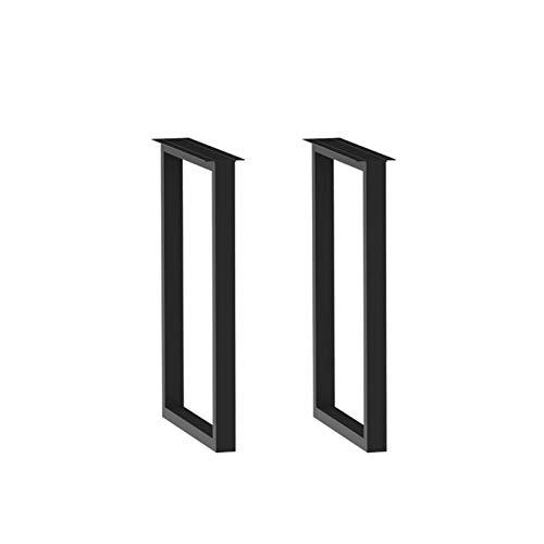 Patas De Mesa Rectangulares Simples, Patas De Mesa De Hierro Forjado, Soporte De Mesa De Metal, Patas De Soporte De Barra, 23 * 30 Cm, Un Paquete De Dos