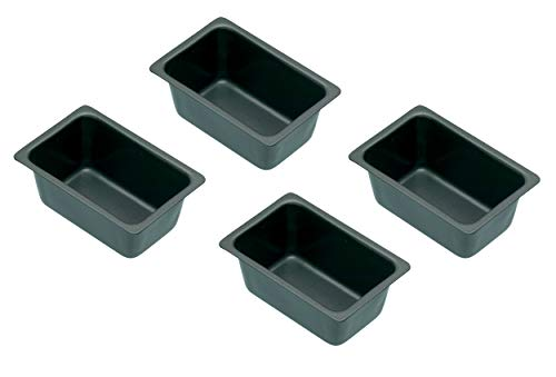 Kitchen Craft Mini-Kastenform mit Antihaftbeschichtung, 4er-Set
