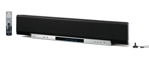 Yamaha HTY 7040 Digitaler Sound Projektor (ab 106,7 cm (42 Zoll) Flachbildschirmen, HDMI 1080p, FM-Tuner mit RDS, 120W) schwarz