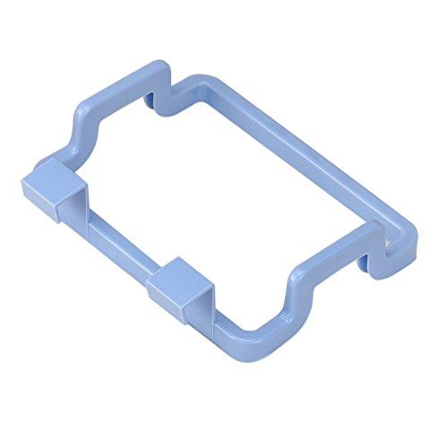 ROUNYY Müllsackständer Tragbare Küche MüllsackhalterInkognito Cabinets Cloth Rack Handtuchhalter (Blau)