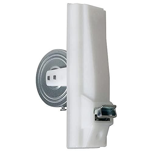 Recogedor de persiana empotrable PVC Blanco para Cinta Ancha 17x6