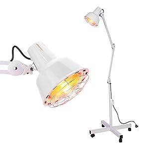 Lámpara de infrarrojos con pie 275 W 220 V, lámpara termoterapia, calentadora, alivio del dolor muscular, espondilosis cervical, ciática