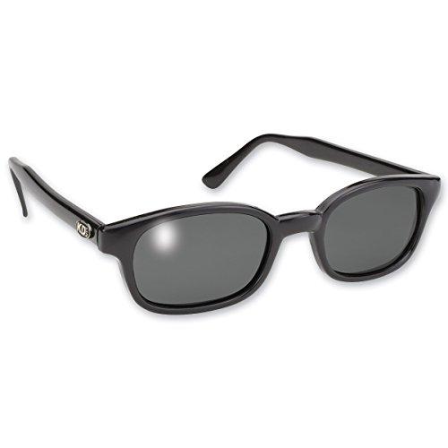 Original KD-Biker-Sonnenbrille als getragen von Jax Teller auf Sons of Anarchy (Polarisiert Grau) KD