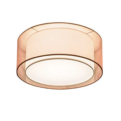 XFZ / 5 × E27 lampen Moderne eenvoudige plafondlamp ronde stof lampenkap metaal acryl plafondlamp rustiek perfecte kunst woonkamerlamp spaarlamp Ø 50 cm max 60 W