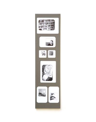 Presse Citron - Cadre photos pêle mêle magnétique - M7 gris et blanc