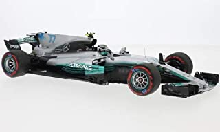 Mercedes AMG F1 W08 EQ Power+, No.77, AMG Petronas F1, Petronas, Formula 1, GP Mexico, 2017, Model Car,, Minichamps 1:18