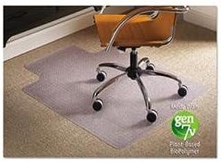 ES Robbins 141042 Natural Origins Chair Mat with Lip for Carpet, 45