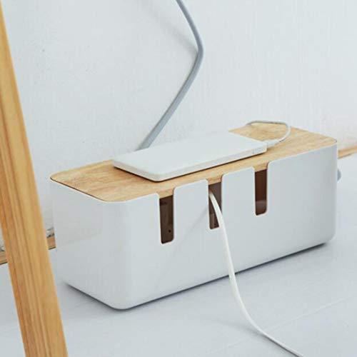 N/Z Caja de cables, caja de gestión de cables, caja de madera...
