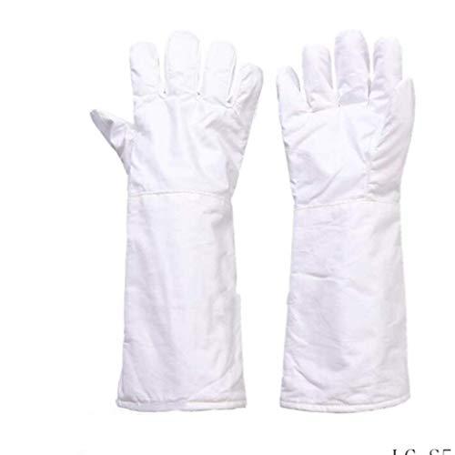 ZFZ Hochtemperaturbeständige Handschuhe 180 °, wärme- und verschleißfeste Aramid Labor Reinraum, 26cm / 40cm (Größe, 26cm),40cm