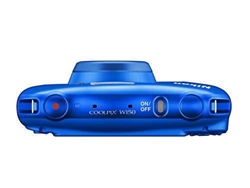 NikonデジタルカメラCOOLPIXW150防水W150BLクールピクスブルー