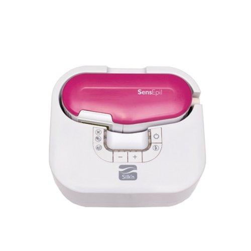 Silk'n SensEpil Damen Epilierer mit Lichtimpuls-Technologie, 750 Impulse, Rosa
