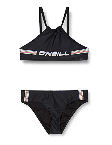 O'Neill Mädchen PG Cali Holiday Bikinis, Schwarz, 140
