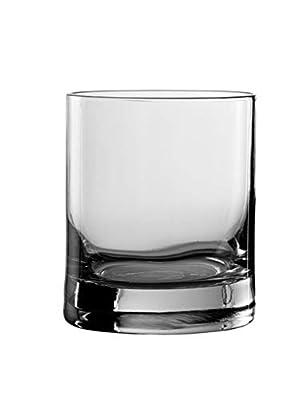 Stolzle New York Bar Double Old Fashioned Whiskey Glasses, 14.75 oz (Set of 6)