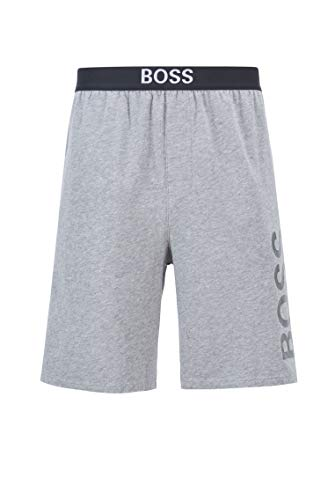 BOSS Identity Shorts' Pantalones Cortos, Gris, XXL para Hombre