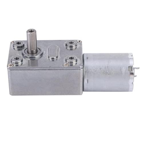 Motor De Gusano, Motor De Reducción De Velocidad Tipo Micro DC12V Resistente Al Estancamiento Sin Dentición Atascada Para Equipos Inteligentes(30)