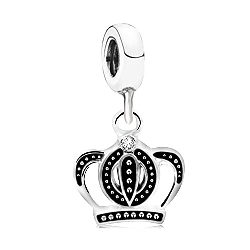 LILANG Pandora 925 joyería Pulsera NaturalCorea Corona Colgante Brazalete Accesorios Cadena de Serpiente S Encanto Mujeres DIY Regalos