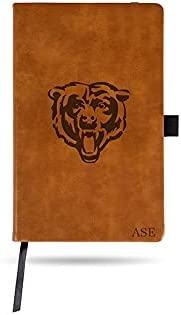 Rico discount Industries NFL Chicago Bears Jounral Under blast sales Brown Personalized Not
