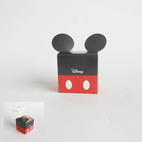 Bomboniera Scatola cubo Confetti Topolino Mikey Mouse Disney set 20 pz art 68053