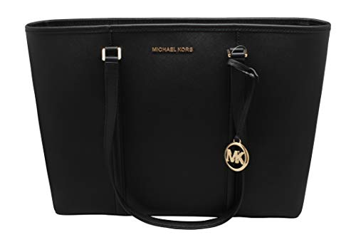 """Size Approximate Measurements: 17""""L X 12""""H X 6""""W Double Leather Handles Drop Approx. 10"""" Logo Lining, Zipper Closure Inside-1 large compartment, padded pocket (9.5""""X14"""" X2"""" ), 3 Slip pockets Outside- 1 back lip pocket, NO Dust Bag Included"""