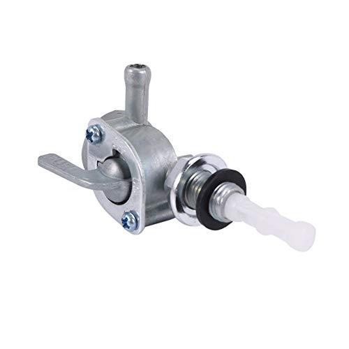 Sundey Interruptor De Válvula De Encendido/Apagado De Combustible Petcock 2-3KW para Tanque De Combustible del Motor del Generador De Grifo De Manguera De 1/4 Pulgada