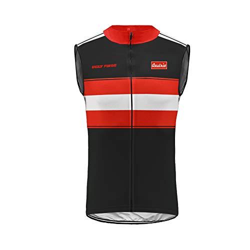 Uglyfrog Invierno Fleece Wear Multifunción Bicicleta Unidad Chaleco/Chaleco/Running Vest/radweste/Ligero Wind Chaleco ESH19VSZRB11