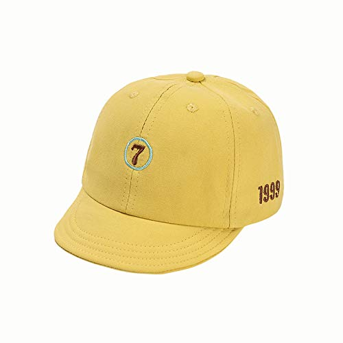 wopiaol Children's hats spring and summer new Korean version of pure cotton digital embroidery children's caps sunscreen baby baseball caps