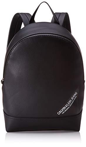 Calvin Klein - Smooth Stitch Slk Campus Bp 40, Shoppers y bolsos de hombro Hombre, Negro (Black), 0.1x0.1x0.1 cm (W x H L)