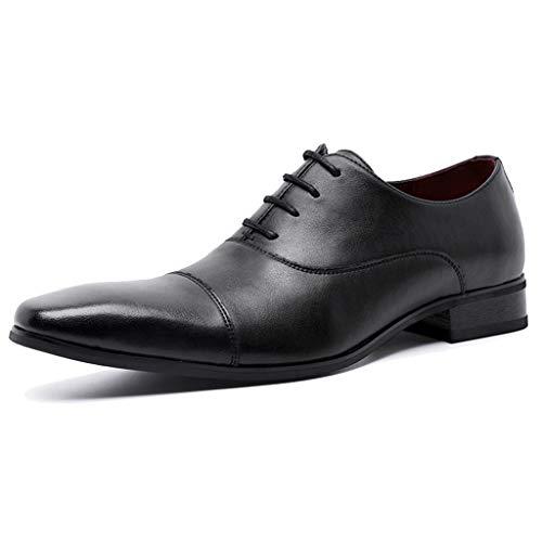 Shiwu herenschoenen van gepolijst leer, voor heren, schoenen, formele werkschoenen, grote maten