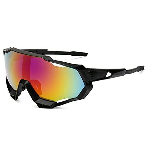 SeniorMar-UK Hombres y Mujeres al Aire Libre Nuevas Gafas de Sol 9312 Gafas de Ciclismo Conjunto polarizado Deportes al Aire Libre Gafas Frescas Tinta