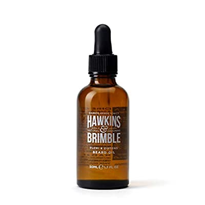 Hawkins & Brimble Beard Oil Conditioner 50ml - Strengthens & Supports Growth