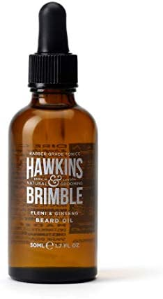Hawkins Brimble Beard Oil 50ml 1 69 fl oz Strengthen Soften And Support Growth Length With Natural product image