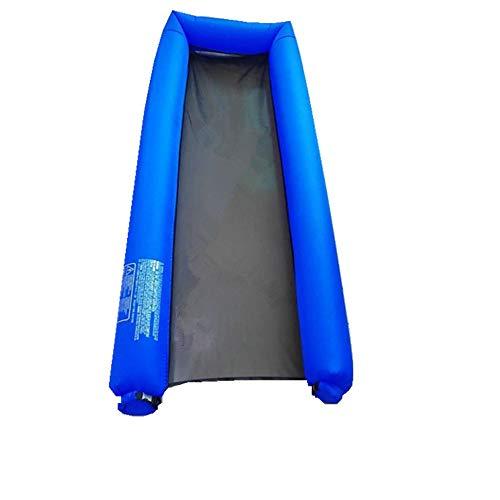 YX-ZD Piscine Gonflable Radeau Piscine Flotteurs, Adulte Flottant Rangée avec Accoudoirs Coupe Trou Jouets Jeux Dossier pour Extérieur Enfants Et Adultes,Royal Blue