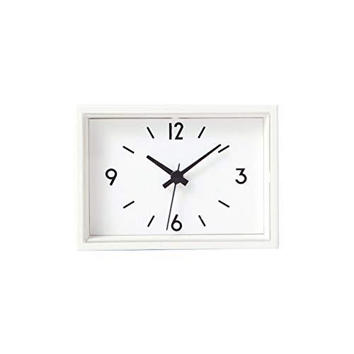 無印良品 駅の時計・ミニ 置時計(マグネット付)・ホワイト 37494312 小