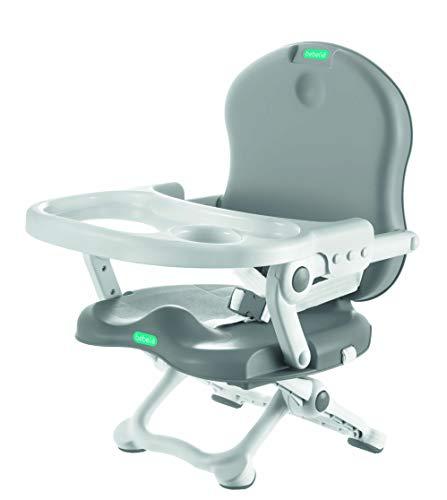 Cadeira de Alimentação Bebeliê, Petit, Branco/Cinza - CAP-01