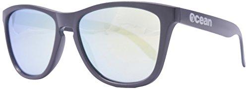 Ocean Sunglasses - Sea - lunettes de soleil polarisées - Monture : Blanc Laqué - Verres : Revo Jaune (40002.14)