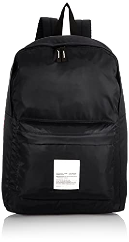 JACK & JONES Herren JACLIAM Backpack Rucksack, Black/Print:Tone IN Tone, ONE Size