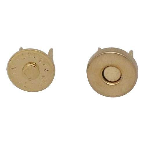 マグネットホック スタンダードシリーズ M-71 8mmタイプ×10個 ゴールド