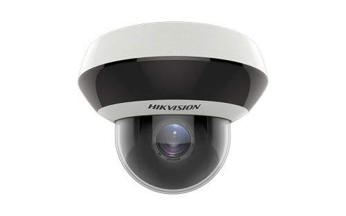 Hikvision Digital Technology DS-2DE2A404IW-DE3(2.8-12MM) - Cámara de vigilancia (Cámara de seguridad IP, Interior y exterior, Alámbrico, Almohadilla, Techo/pared, Negro, Blanco)