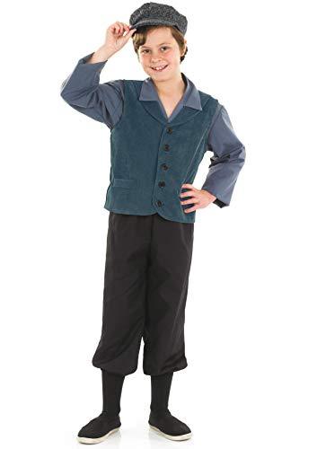 Fun Shack Déguisement Orphelin Victorien Enfant, Déguisement Carnaval Enfant en Taille XL