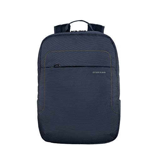 Tucano-Lup-Zaino in Tessuto Tecnico per Notebook 13.3'/14, MacBook Air 13'/MacBook PRO 13'. Tasca Interna Imbottita per Notebook, Tablet o iPad. Tasca di Sicurezza sullo Schienale.