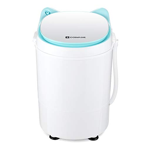 2-in-1 Portable Washing Machine Washer And Spin Dryer For...