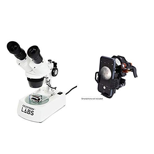 Celestron S10-60 Stereo Microscope with Universal Smartphone Adapter