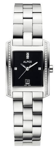 Reloj Alfex 5559/152 de Mujer con bidel de Brillantes Brazalete de Acero