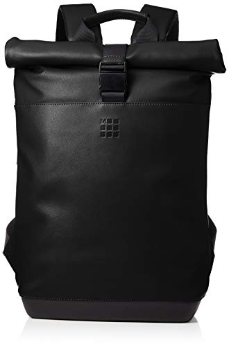 [モレスキン] リュック 15インチPC収納 ビジネスリュック ET86RBKG22 クラシック ロールトップ バックパック ブラック One Size