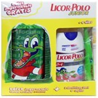 Licor del Polo Junior 2 x 75 ml + cepillo + bolsa impermeable ...