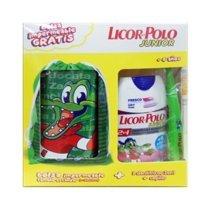 Licor del Polo Junior 2 x 75 ml + cepillo + bolsa impermeable