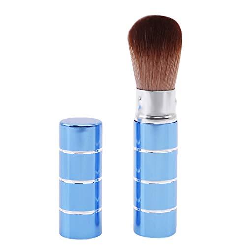 VWH Mini pinceau de maquillage doux blush cosmétique visage poudre brosses outil de beauté(bleu)