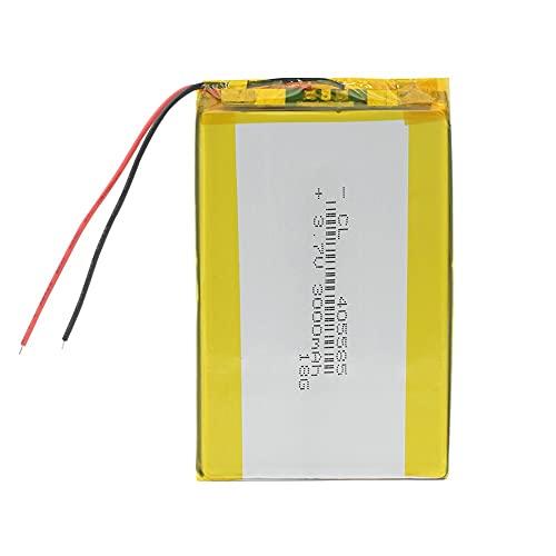 Batería Recargable de polímero de Litio 3.7V 85x55x4mm 3000mAh 3Ah Batería Lipo Reemplazo para DVD GPS Cámara E-Book 4pieces