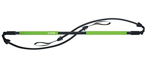 Schildkröt Fitness Gymnastic Stick, Set mit Stick und 2 Linearexpander, in 4-Farb Karton, 960072