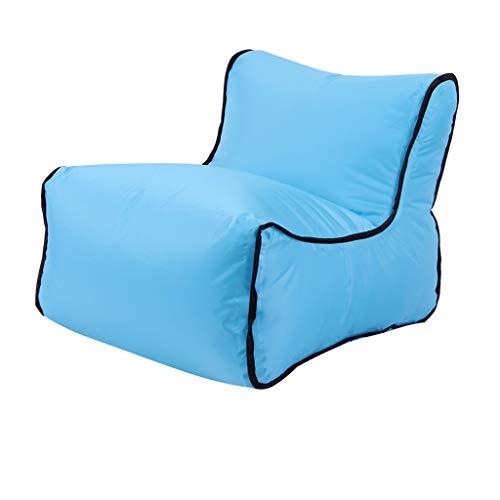 JERFER Le canapé paresseux de chaise de canapé de chaise longue de sofa gonflable met en sac le voyage de camping extérieur de partie